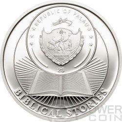 HOLY THREE KINGS Biblical Stories Серебро Монета 2$ Палау 2014