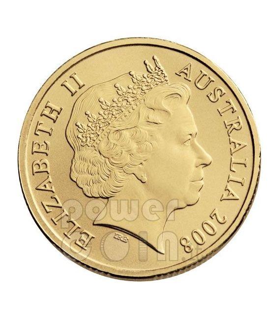 ROCK WALLABY LAND SERIES Kangaroo Coin 1$ Australia 2009