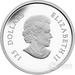 CANADIAN HORSE Half Kilo 1/2 Kilogram Kg Moneda Plata 125$ Canada 2015