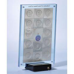 CATHEDRAL NOTRE DAME De Paris 1 Kg Kilo Серебро Set 15 Монета 10$ Ниуэ 2014