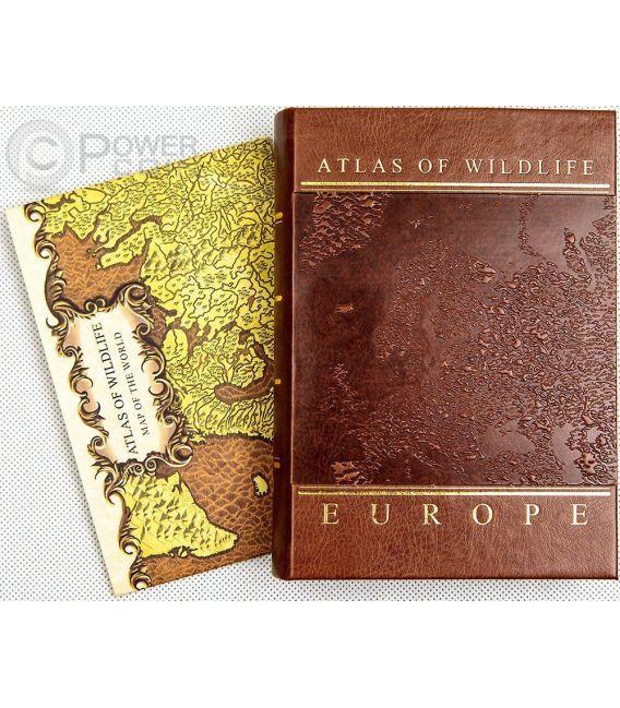 POND TURTLE Testuggine Palustre Atlas Wildlife Europa Swarovski Moneta Argento 10D Andorra 2014