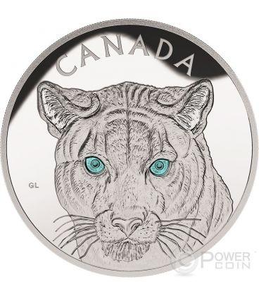 PUMA Occhi Turchesi Coguaro Cougar Moneta Argento 1 Kg Kilo 250$ Canada 2015