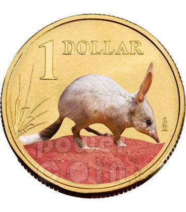 BILBY BANDICOOT LAND SERIES Moneta 1$ Australia 2009