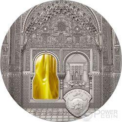 TIFFANY ART NASRID STYLE Alhambra Granada 1 Kg Kilo Silber Münze 50$ Palau 2015