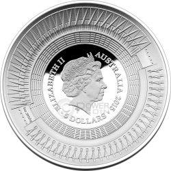 ICC CRICKET WORLD CUP Silber Proof Münze 5$ Australia 2015