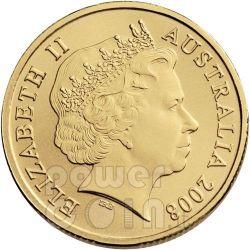 FRILLED NECK LIZARD LAND SERIES Монета 1$ Австралия 2009