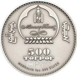 CAMPBELL HAMSTER Dwarf Wildlife Protection Moneda Plata 500 Togrog Mongolia 2015