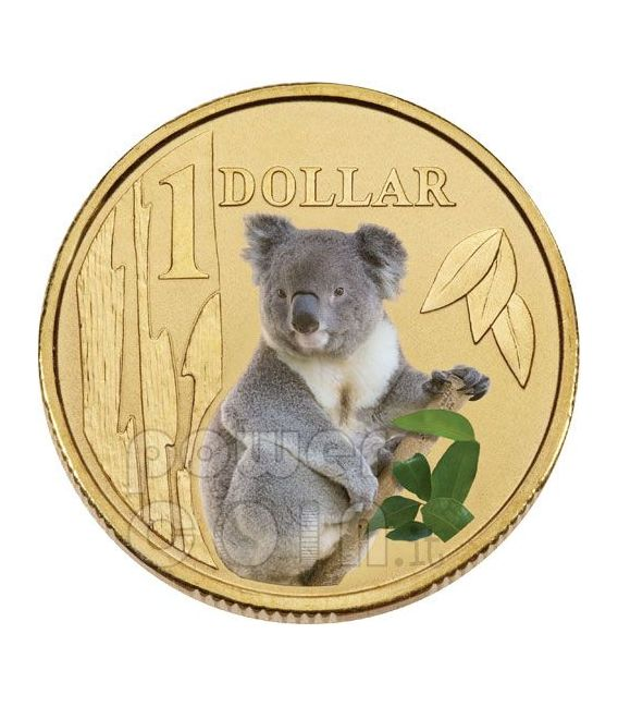 KOALA LAND SERIES Münze 1$ Australia 2009