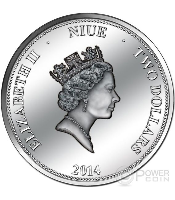 PANAMA CANAL 100 Years Anniversary Silber Proof Münze 2$ Niue 2014