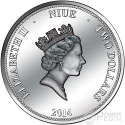 PANAMA CANAL 100 Years Anniversary Silber Proof Münze 2$ Niue 2014