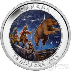 STAR CHARTS The Great Ascent Silver Coin 25$ Canada 2015