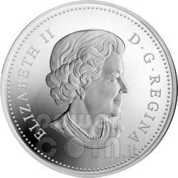 RAINDROP Crystal Swarovski Серебро Монета 20$ Канада 2009