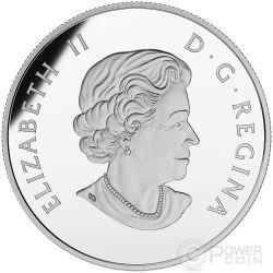 MOTHER FEEDING BABY First Nations Art Серебро Монета 10$ Канада 2015