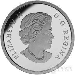 BLACK BEAR Colored 1 oz Silber Proof Münze 20$ Canada 2015