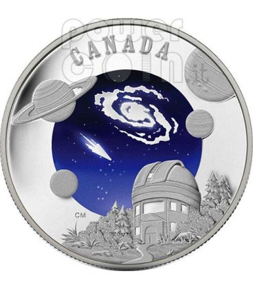 INTERNATIONAL YEAR ASTRONOMY IYA Silver Coin 30$ Canada 2009