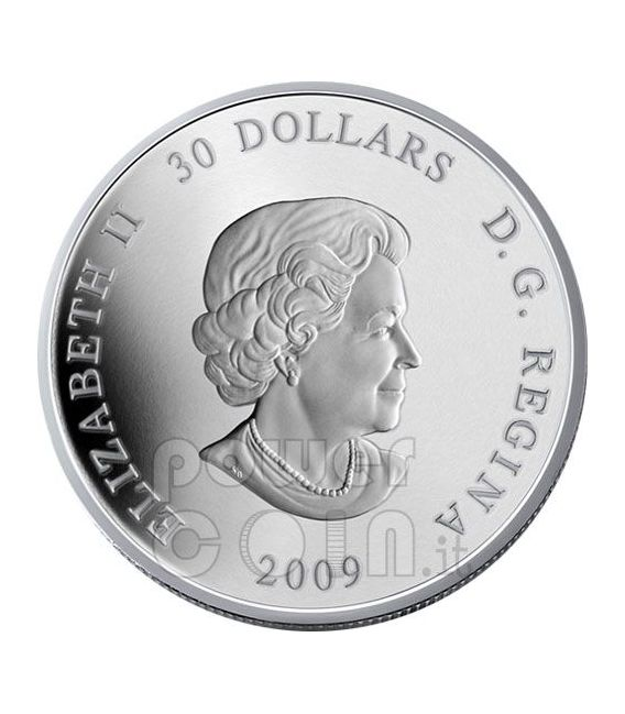 INTERNATIONAL YEAR ASTRONOMY IYA Silber Münze 30$ Canada 2009