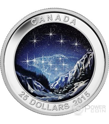 STAR CHARTS The Eternal Pursuit Silver Coin 25$ Canada 2015