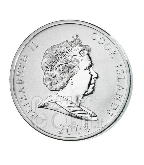 FORD Henry Mondo Della Finanza Moneta Argento 10$ Cook Islands 2008
