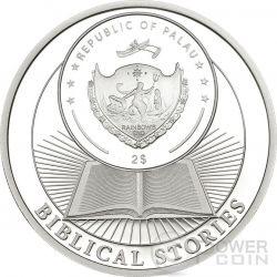 LAST SUPPER Biblical Stories Серебро Монета 2$ Палау 2015