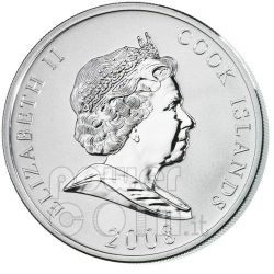 ROTHSCHILD Nathan Financial Tycoons Moneda Plata 10$ Cook Islands 2008