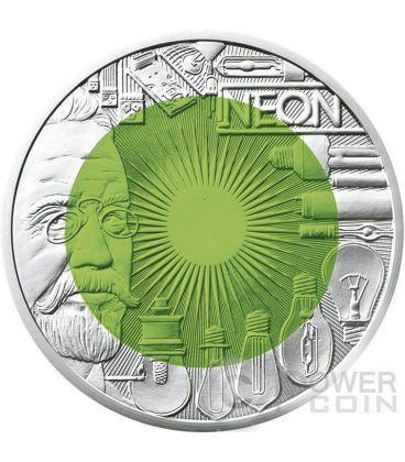 FASCINATION LIGHT Faszination Licht Niobium Silver Bimetallic Coin 25€ Euro Austria 2008