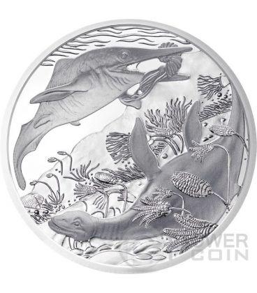 TRIASSICO Triassic Life In The Water Prehistoric Life Moneta Argento 20€ Euro Austria 2013