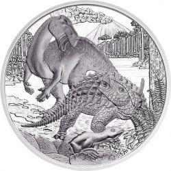 CRETACEUS Life In The Ground Kreide Prehistoric Life Silber Münze 20€ Euro Austria 2014