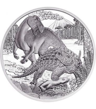 CRETACEUS Life In The Ground Kreide Prehistoric Life Silver Coin 20€ Euro Austria 2014
