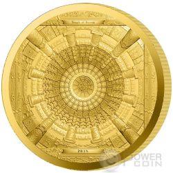 TEMPLE OF HEAVEN Beijing 4 Layer Proof Gold Coin 100$ Cook Islands 2015