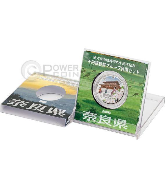 NARA 47 Prefectures (7) Silber Proof Münze 1000 Yen Japan 2009