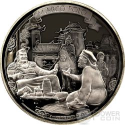 MARCO POLO Journeys Of Discovery 2 oz Silver Coin 5$ Niue 2015