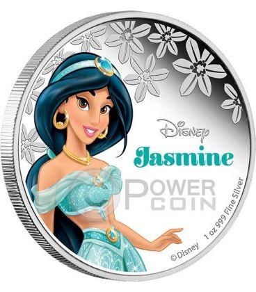 JASMINE Disney Princess 1 oz Silver Proof Coin 2$ Niue 2015
