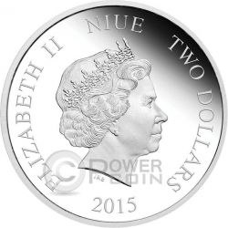 JASMINE Disney Princess 1 oz Silber Proof Münze 2$ Niue 2015