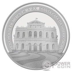 MONKEY Lunar Year 5 Oz Plata Proof Moneda 100 Patacas Macao Macau 2016
