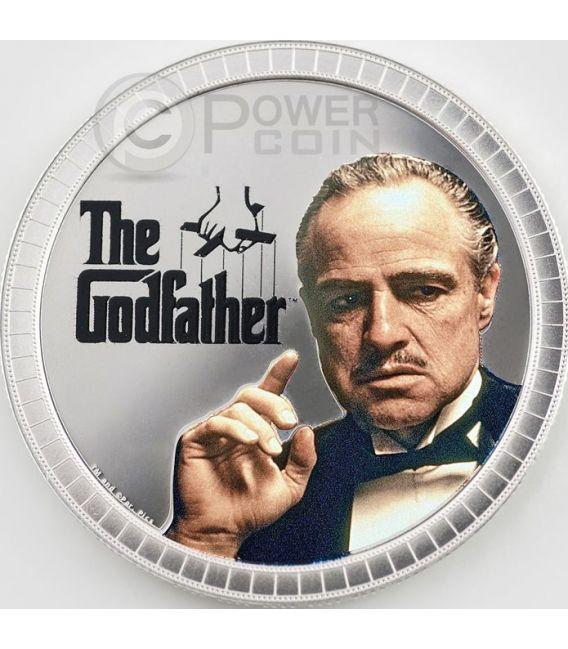 GODFATHER COLLECTIBLE SET New York Mafia 1 Oz Silver 2 Coin 2$ Niue 2015