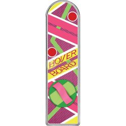 RITORNO AL FUTURO HOVERBOARD Back To The Future Moneta 2 Oz Argento 2$ Tuvalu 2015