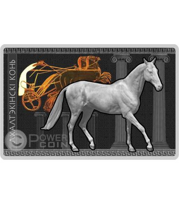 AKHAL TEKE Horses Breeds Silver Coin Belarus 2011