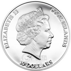 GREAT STAR OF AFRICA Cullinan Most Famous Diamonds 2 Oz Silber Münze 10$ Cook Islands 2015