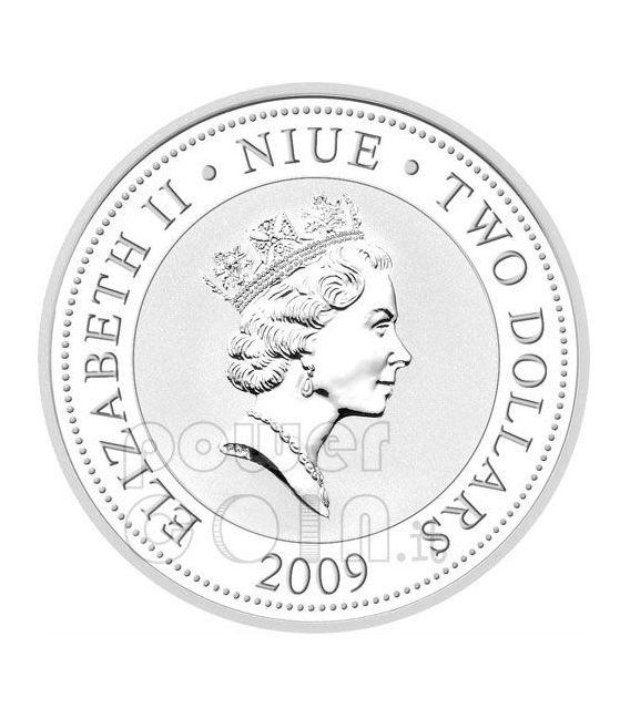 ANNA PAVLOVA Greatest Ballerinas Silver Coin 2$ Niue 2009