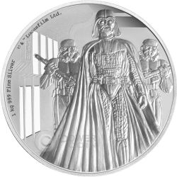 DARTH VADER Star Wars A New Hope 1 Kg Kilo Silber Proof Münze 100$ Niue 2016