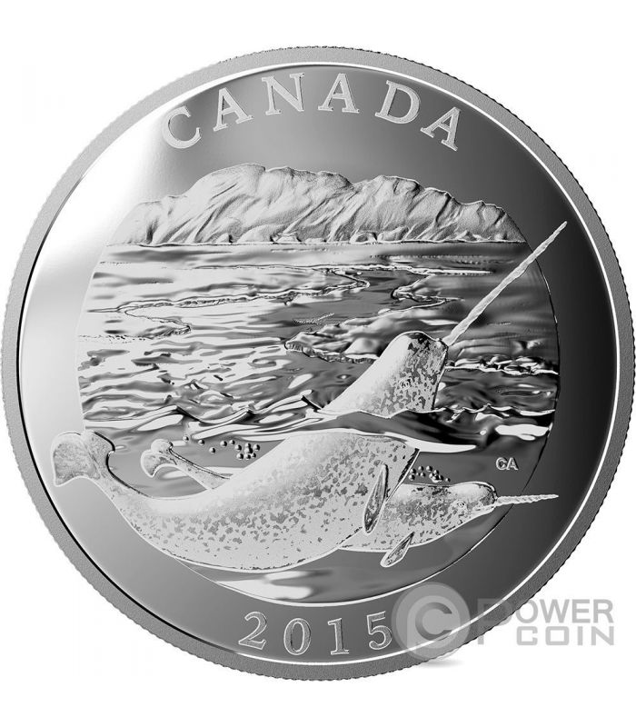 Narwhal Conservation Series 1 2 Kg Kilo Silver Coin 125