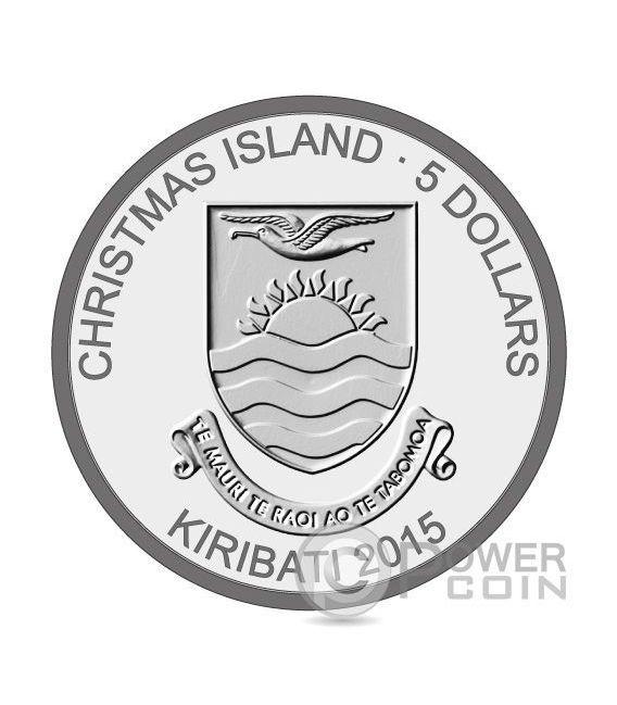 SNOWMAN 3 Coin Set Christmas Silver Proof Coin 2$ 5$ 10$ Kiribati 2015