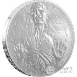 HAN SOLO Star Wars Classic 1 oz Silber Proof Münze 2$ Niue 2016