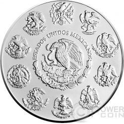 MEXICAN LIBERTAD Flag 1 Oz Silver Coin Mexico 2015