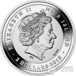 DOGE PALACE SOS Venice 1 Oz Silver Coin 2$ Niue 2015