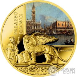 DOGE PALACE SOS Venice Gold Coin 50$ Niue 2016