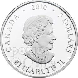 RETURN OF TYEE Circle Of Life Silver Coin 3$ Canada 2010