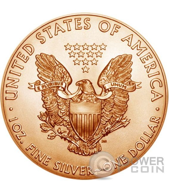 OUNCE OF SPACE Liberty Walking On Mars Marte 1 Oz Moneta Argento 1$ US Mint 2016