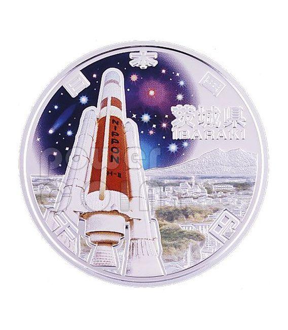 IBARAKI 47 Prefectures (6) Silver Proof Coin 1000 Yen Japan Mint 2009