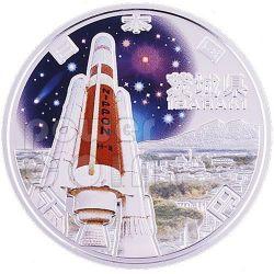 IBARAKI 47 Prefectures (6) Серебро Proof Монета 1000 Ен Япония 2009